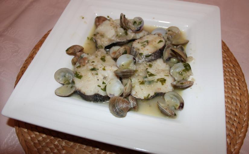 Merluza en salsaverde